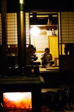 小谷村古民家再生囲炉裏ですき焼き8�p.jpg